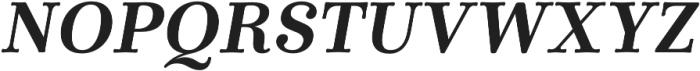 Winslow Book Bold Italic otf (400) Font UPPERCASE