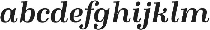 Winslow Book Bold Italic otf (400) Font LOWERCASE