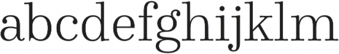 Winslow Book Light otf (300) Font LOWERCASE