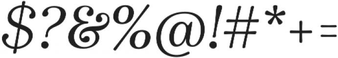 Winslow Book Regular Italic otf (400) Font OTHER CHARS