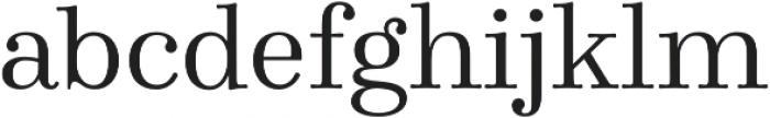Winslow Book Regular otf (400) Font LOWERCASE