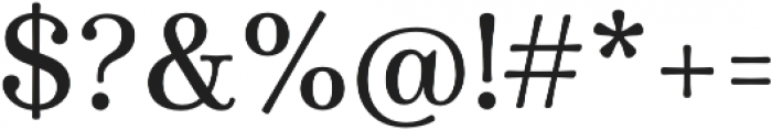 Winslow Book SemiBold otf (400) Font OTHER CHARS