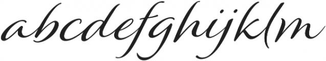 Winsome Basic otf (400) Font LOWERCASE