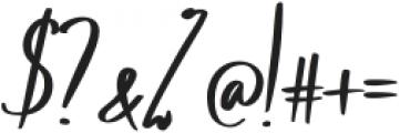 Winston Heyvante otf (400) Font OTHER CHARS