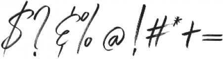 Winter Heart Alt Regular otf (400) Font OTHER CHARS