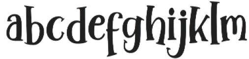 Winter Tales Sherif Sherif otf (400) Font LOWERCASE