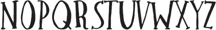 Winter ttf (400) Font UPPERCASE
