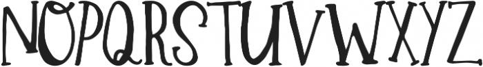 Winter ttf (400) Font LOWERCASE