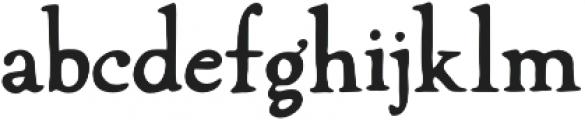Winterheath otf (400) Font LOWERCASE