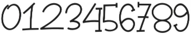 Winterland otf (400) Font OTHER CHARS
