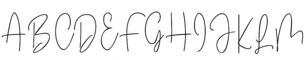 Winterous otf (400) Font UPPERCASE