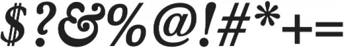 Winthorpe Bold Italic otf (700) Font OTHER CHARS