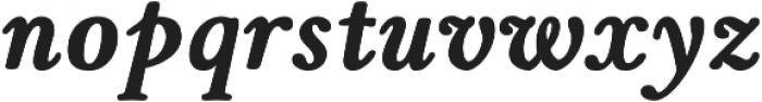 Winthorpe Bold Italic otf (700) Font LOWERCASE