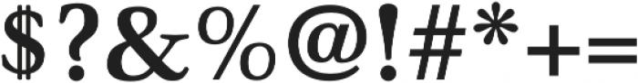 Winthorpe Bold otf (700) Font OTHER CHARS