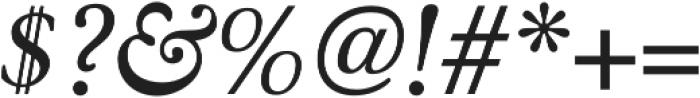 Winthorpe Italic otf (400) Font OTHER CHARS