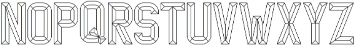 Wire 2 otf (400) Font UPPERCASE