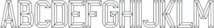 Wire 2 otf (400) Font LOWERCASE