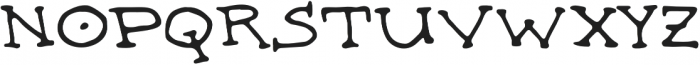 Witches Britches Serif otf (400) Font LOWERCASE
