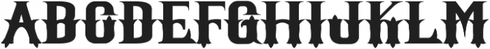 Witham Solid otf (400) Font LOWERCASE