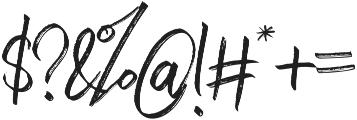 Withdrawn Alt Regular otf (400) Font OTHER CHARS