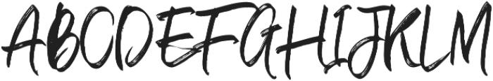 Withdrawn Alt Regular otf (400) Font UPPERCASE