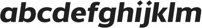 Without Alt Sans Bold Italic otf (700) Font LOWERCASE