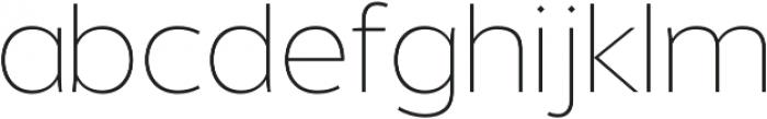 Without Alt Sans Extralight otf (200) Font LOWERCASE