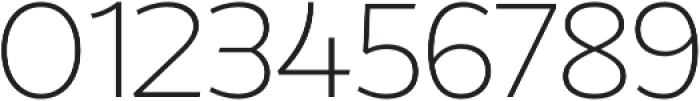 Without Alt Sans Light otf (300) Font OTHER CHARS
