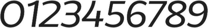Without Alt Sans Medium Italic otf (500) Font OTHER CHARS