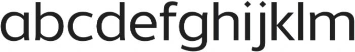 Without Alt Sans Medium otf (500) Font LOWERCASE