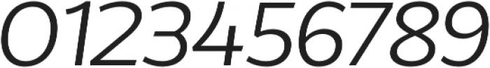 Without Alt Sans Regular Italic otf (400) Font OTHER CHARS