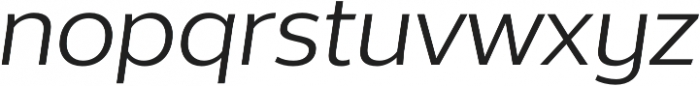 Without Alt Sans Regular Italic otf (400) Font LOWERCASE