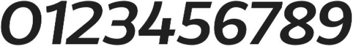 Without Alt Sans Semibold Italic otf (600) Font OTHER CHARS