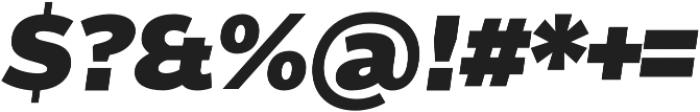 Without Alt Sans Ultrablack Italic otf (900) Font OTHER CHARS