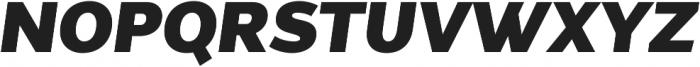 Without Alt Sans Ultrablack Italic otf (900) Font UPPERCASE
