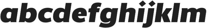 Without Alt Sans Ultrablack Italic otf (900) Font LOWERCASE