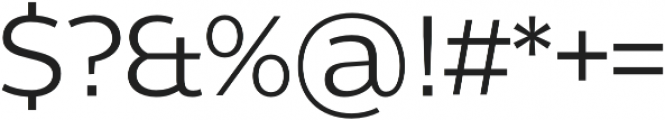 Without Alt Sans otf (400) Font OTHER CHARS