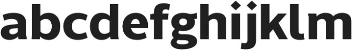 Without Sans Bold otf (700) Font LOWERCASE
