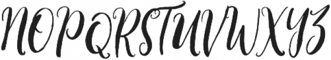 willbelove otf (400) Font UPPERCASE