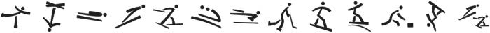 winter-sports ttf (400) Font LOWERCASE