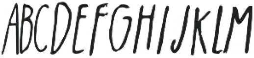 witchy otf (400) Font UPPERCASE
