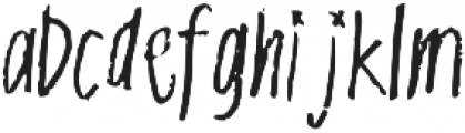witchy otf (400) Font LOWERCASE