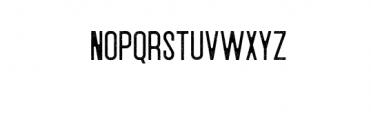 Winrun Preview Font UPPERCASE