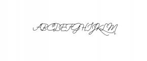 Wizard.ttf Font UPPERCASE
