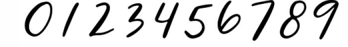 Wild Indigo Script Font Font OTHER CHARS