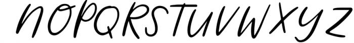 Wild Indigo Script Font Font UPPERCASE