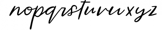 Wild Indigo Script Font Font LOWERCASE