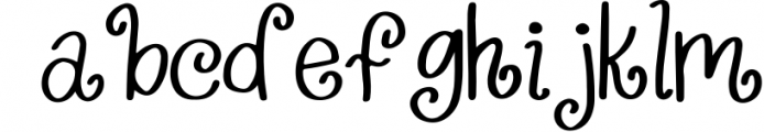 Wildly Extravagant - Curly Handwritten Font Font LOWERCASE