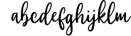 Willyast Calligraphy Handwriting Font LOWERCASE