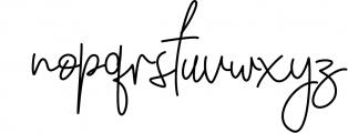 Winchester Signature Script Font LOWERCASE